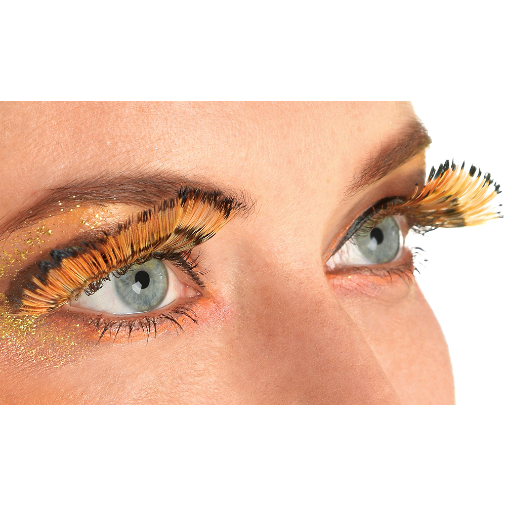 02fb06dad26 Monarch Feather Eyelashes   Party City