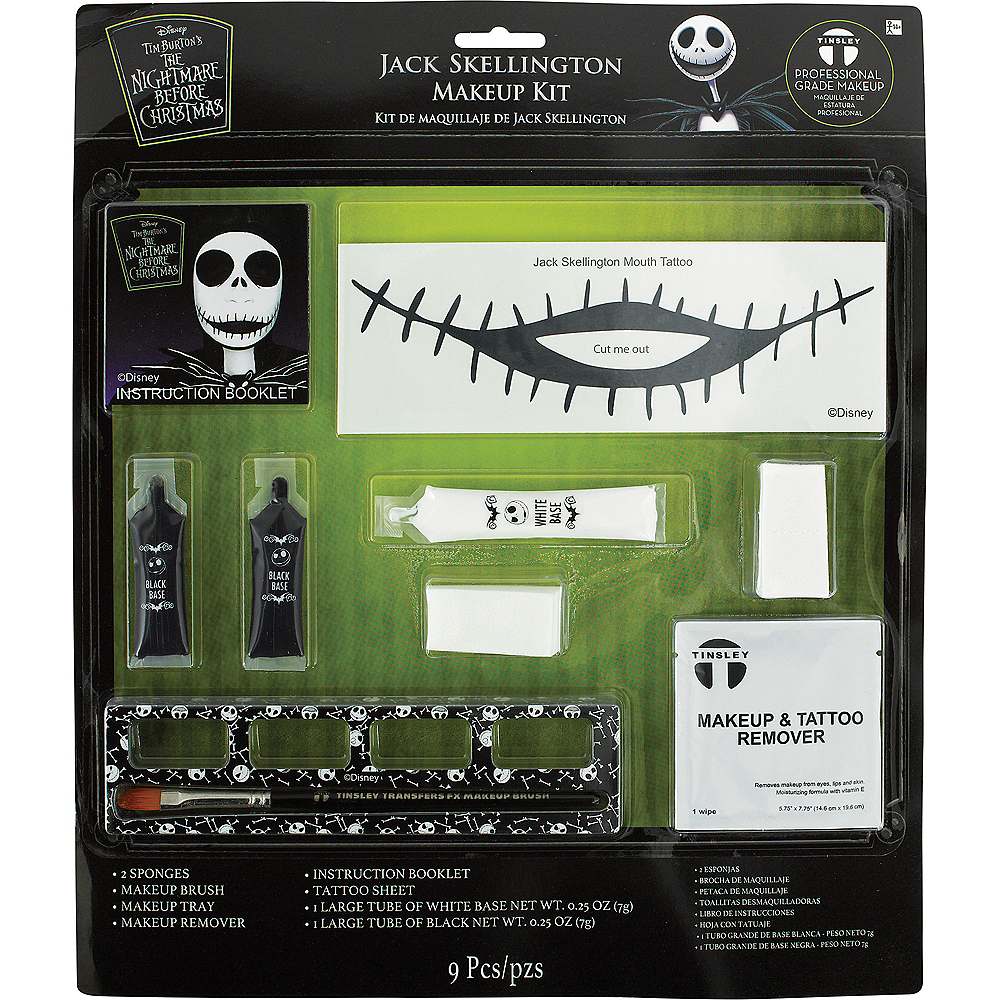 jack skellington makeup kit the nightmare before christmas image 2