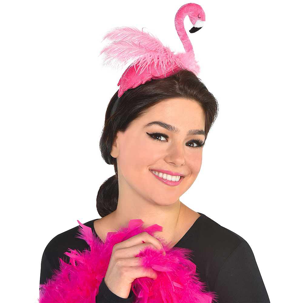 Nav Item for Flamingo Headband Image #2