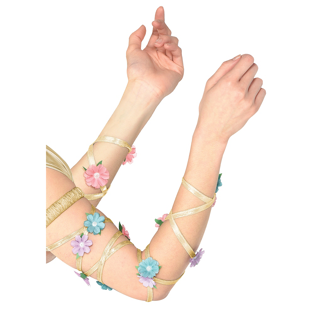 Adult Floral Arm/Leg Wraps Image #1