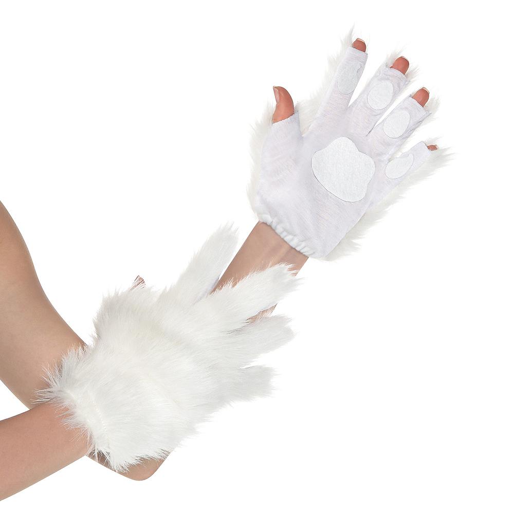 White Cat Paw Glovelettes Image #1