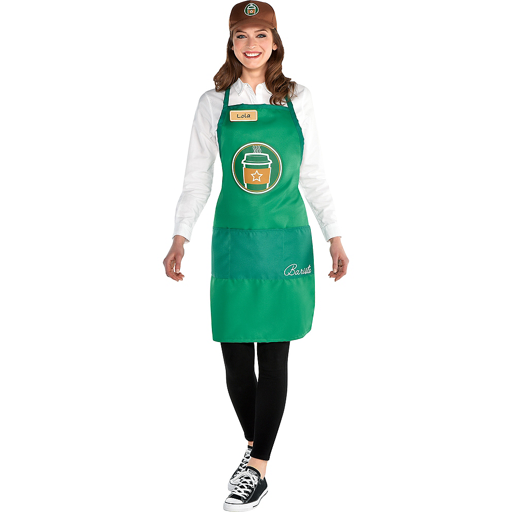 Adult Barista Costume Accessory Kit Image #1