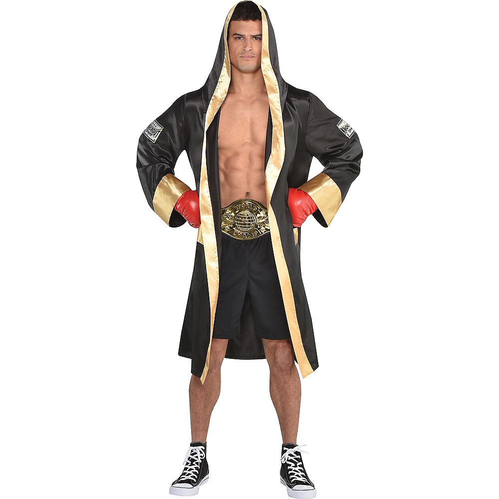 Nav Item for Adult Boxer Robe Image #1