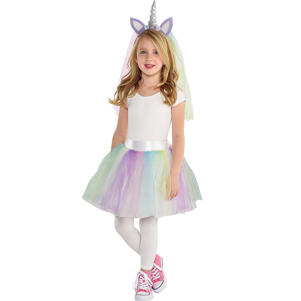 f81ee54664401 Girls Unicorn Costume Accessory Kit