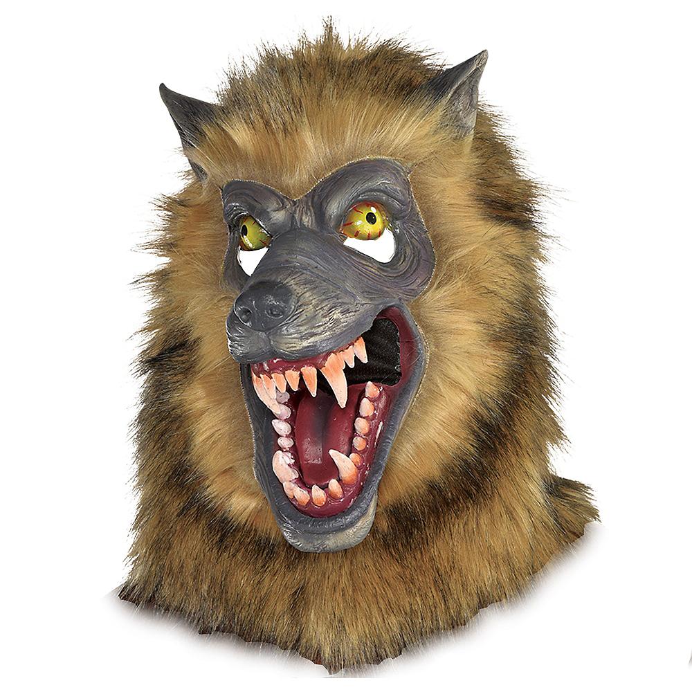 Brown Werewolf Mask Image #1