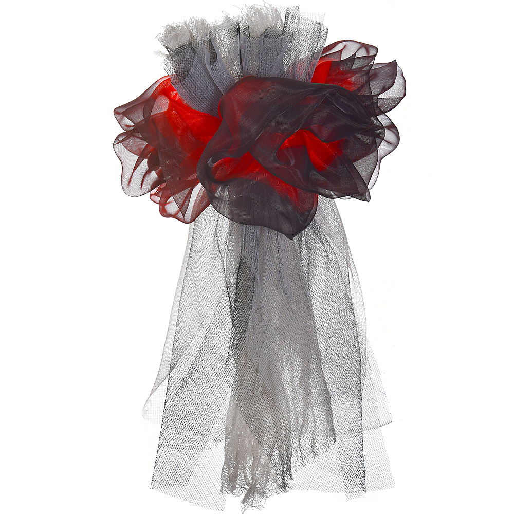 Black & Red Zombie Corsage Image #2