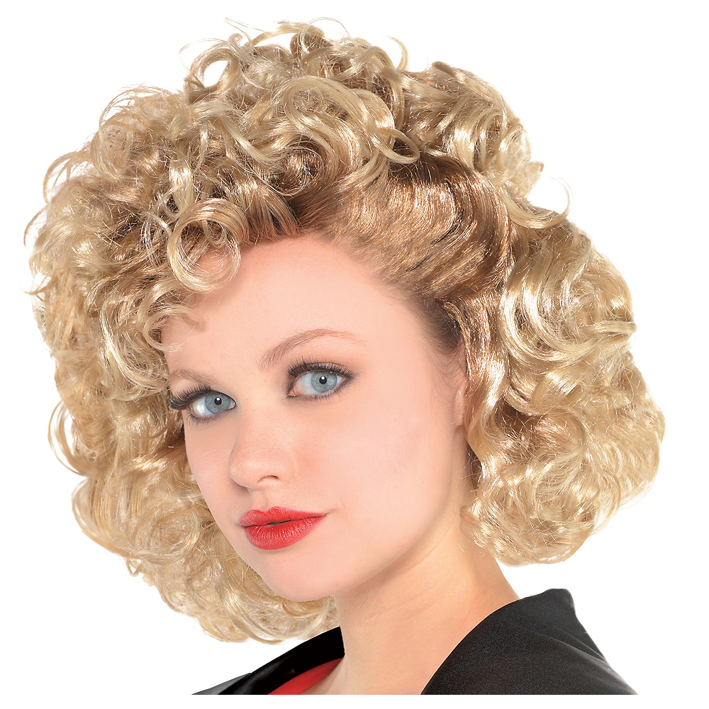 Sandy Olsson Greaser Wig - Grease Image  1 800d65a80e1c