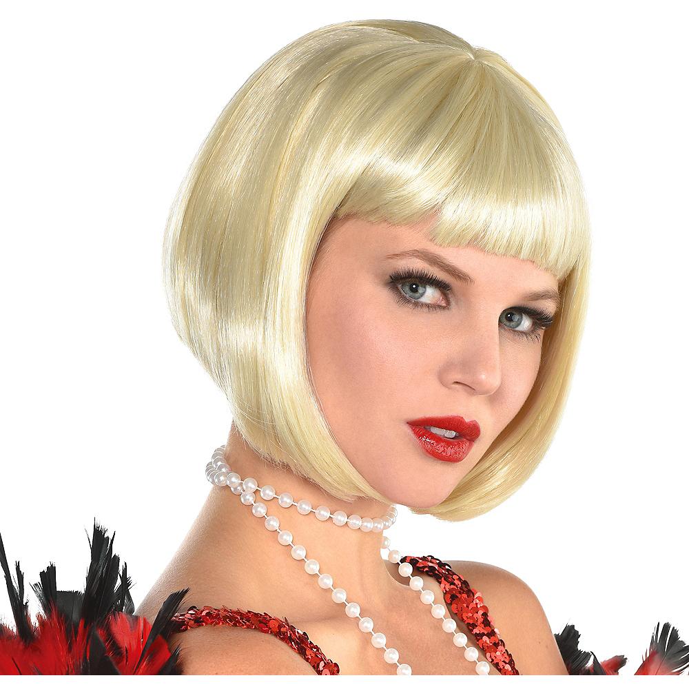 Blonde Flapper Wig Image #1