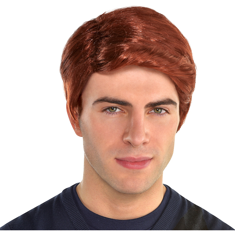 Red Hair Wig Image #1