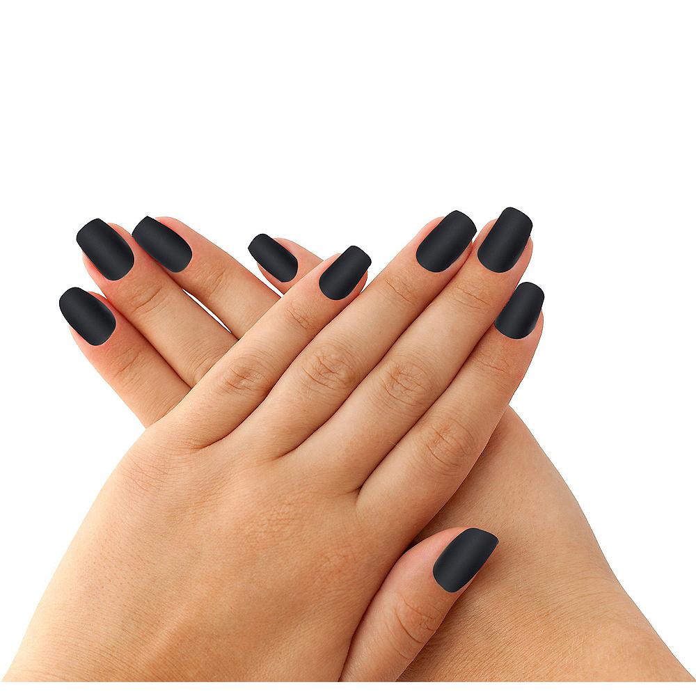 Elegant Black Nails 24ct Image #1