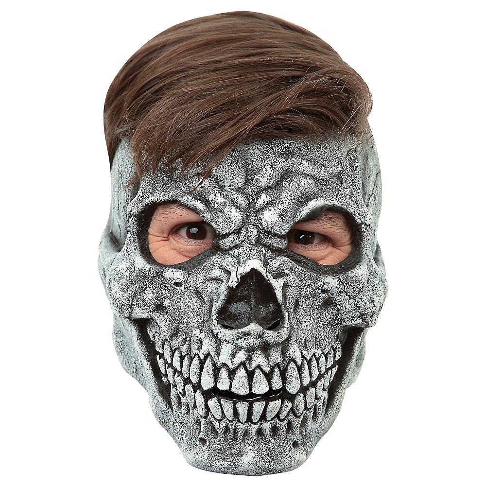Gray Skull Mask Image #1