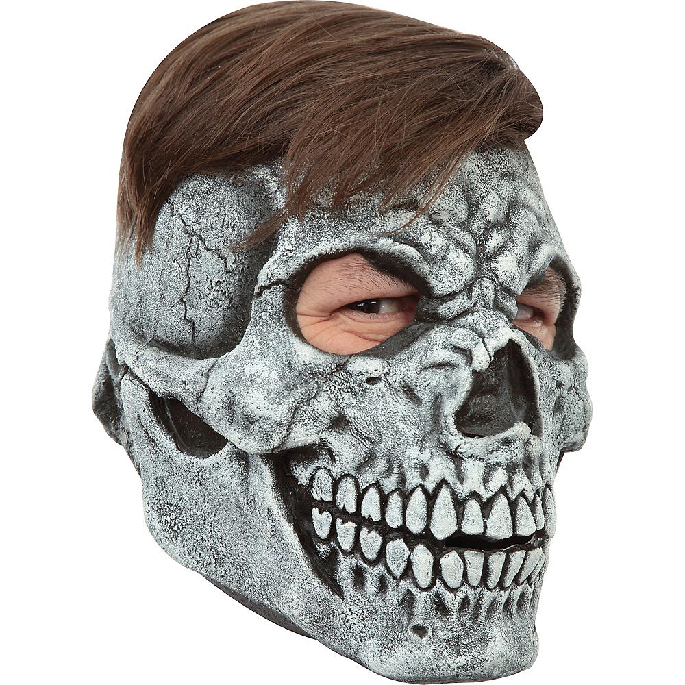 Gray Skull Mask Image #2