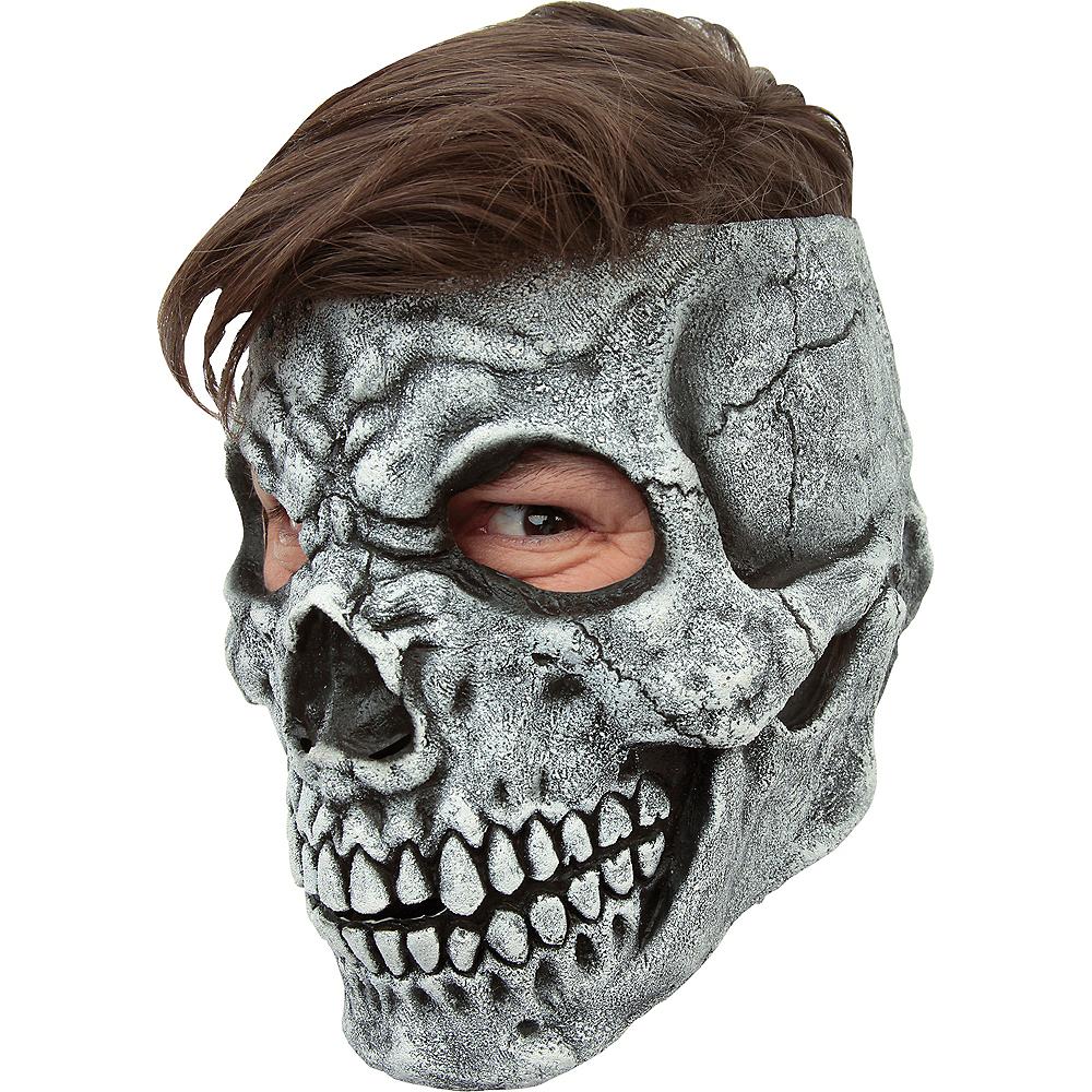 Gray Skull Mask Image #3