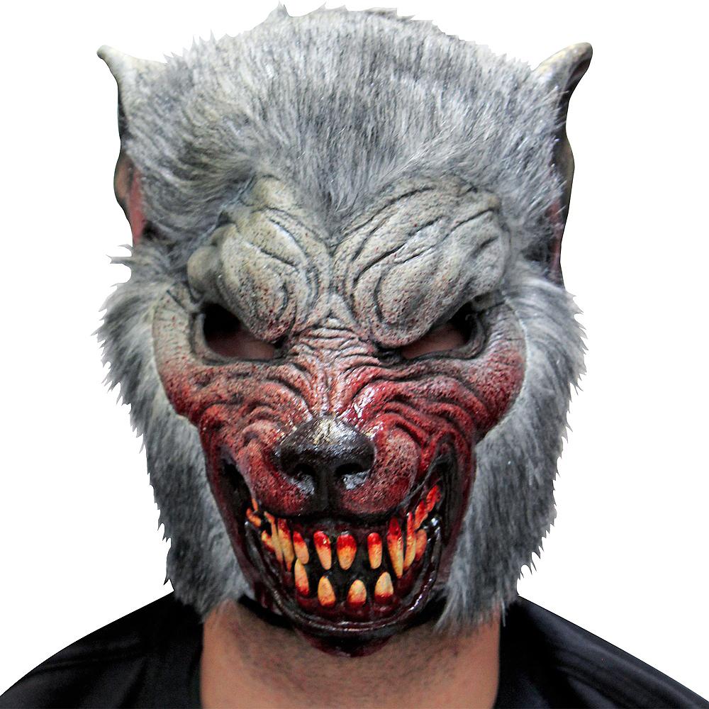 Gray Werewolf Mask Image #1