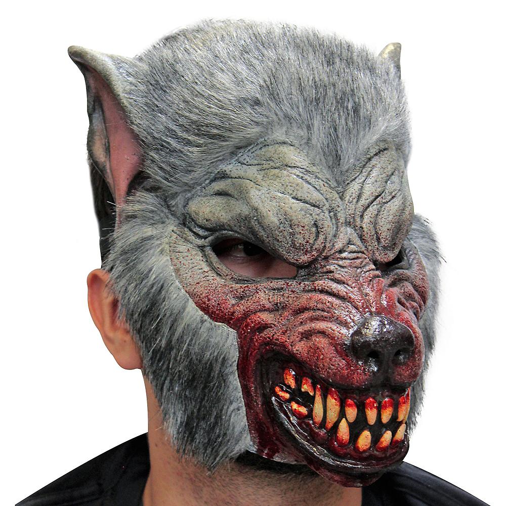 Gray Werewolf Mask Image #2