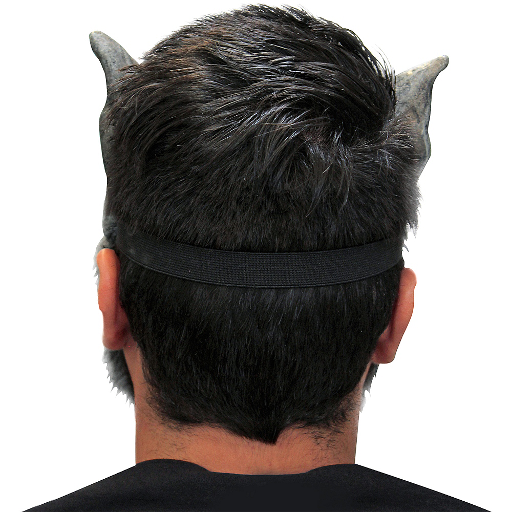 Gray Werewolf Mask Image #3