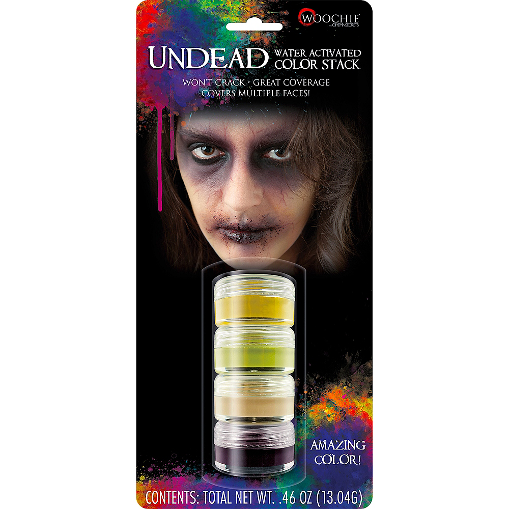 Color Stack Zombie Makeup Kit Image #2