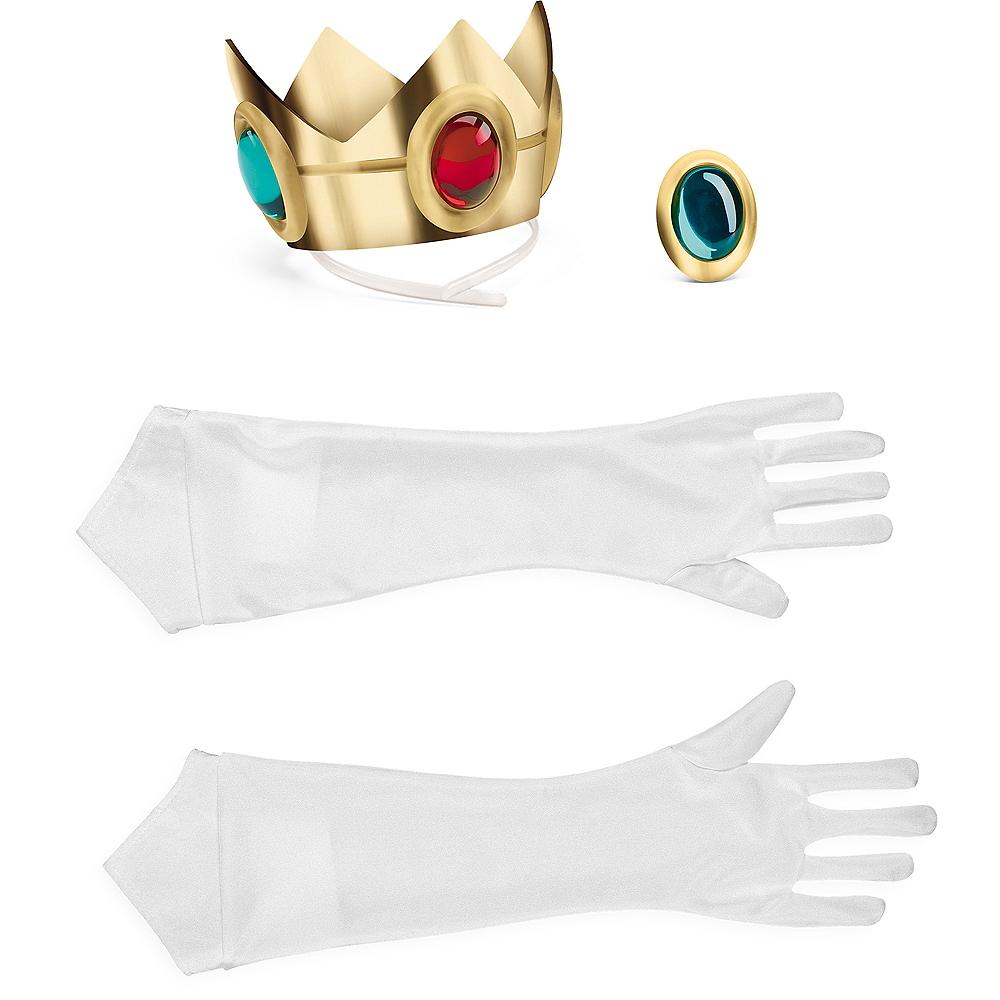 Womens Princess Peach Costume Accessory Kit Image #2