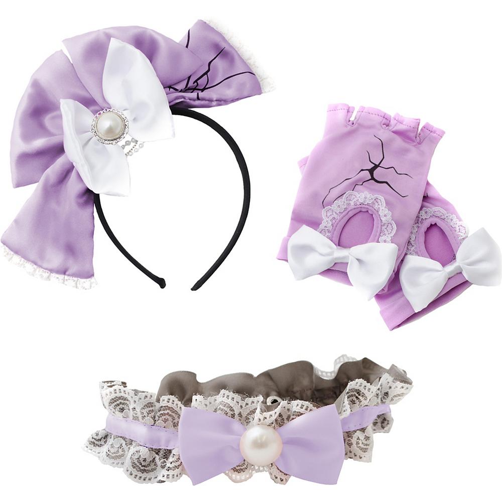 Womens Lavender Broken Doll Costume Accessory Kit Image #2