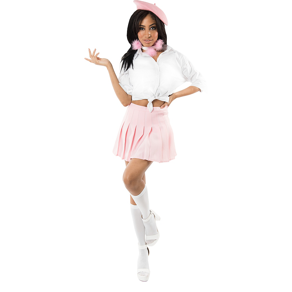 Womens Pretty in Pink Costume Accessory Kit Image #2
