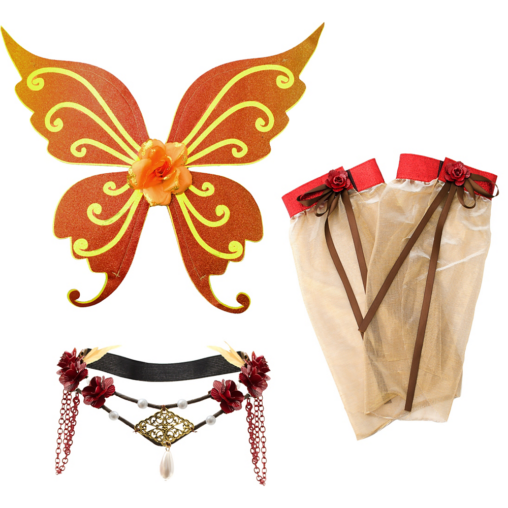 Nav Item for Womens Woodland Fairy Costume Accessory Kit Image #2