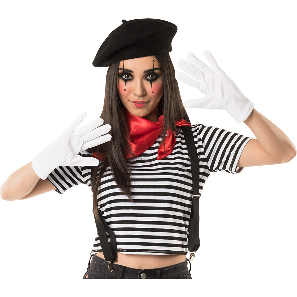 Adult Mime Costume Accessory Kit Image #1