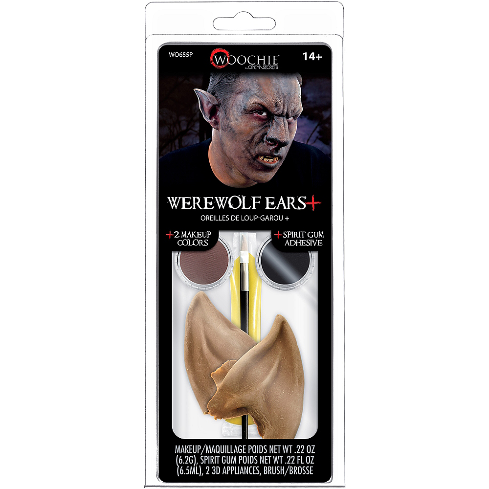 Brown Werewolf Makeup Kit Image #2
