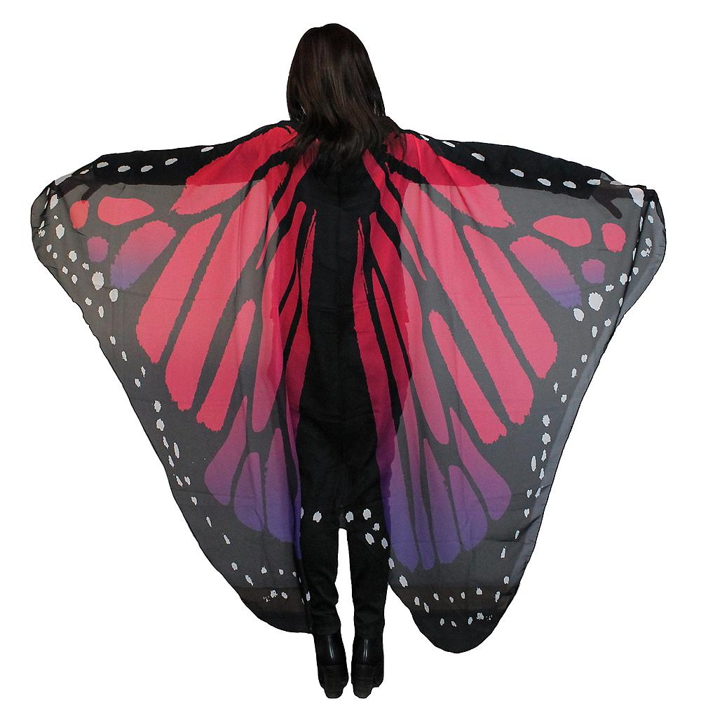 Purple & Red Monarch Butterfly Wings Image #1