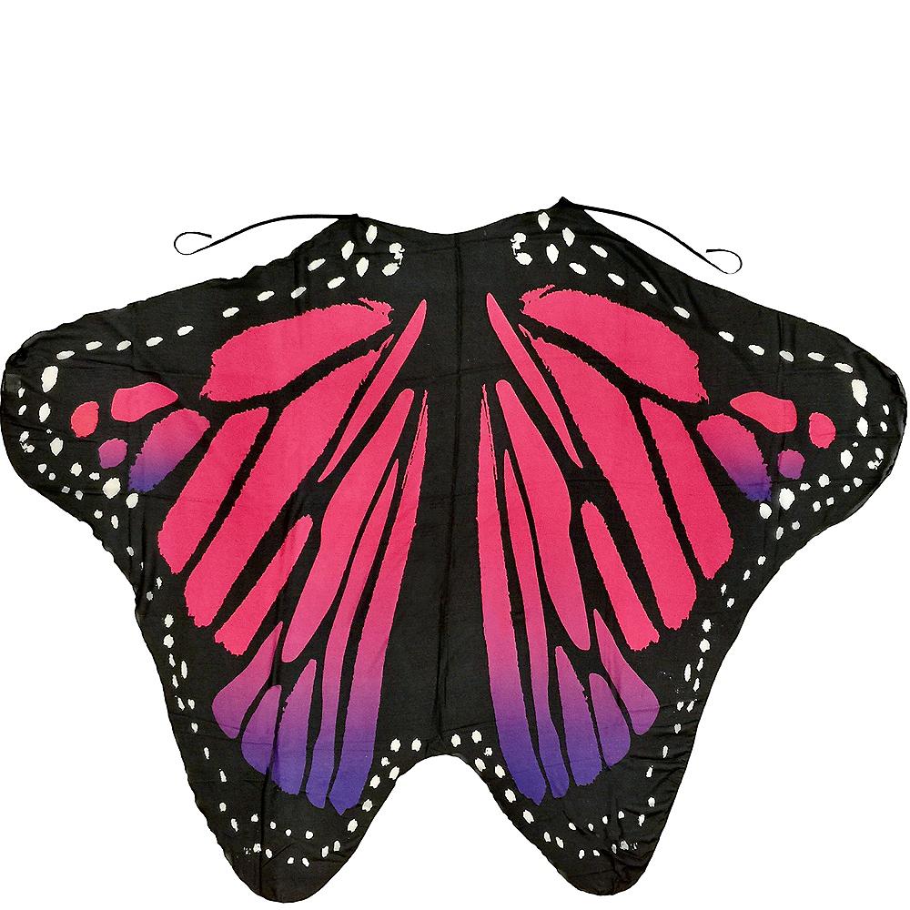 Purple & Red Monarch Butterfly Wings Image #2