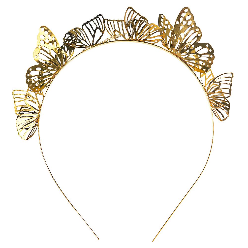 Golden Butterfly Headband Image #1