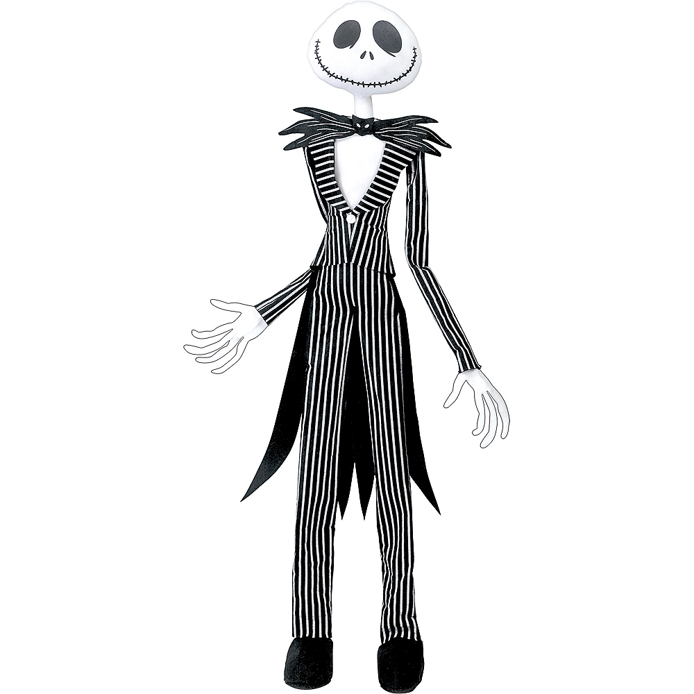 5b7e16cc34d Nav Item for Poseable Jack Skellington Hanging Decoration - The Nightmare  Before Christmas Image  1 ...