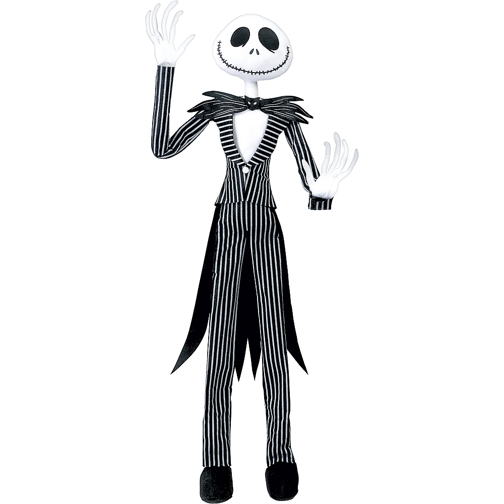 nav item for poseable jack skellington hanging decoration the nightmare before christmas image 2