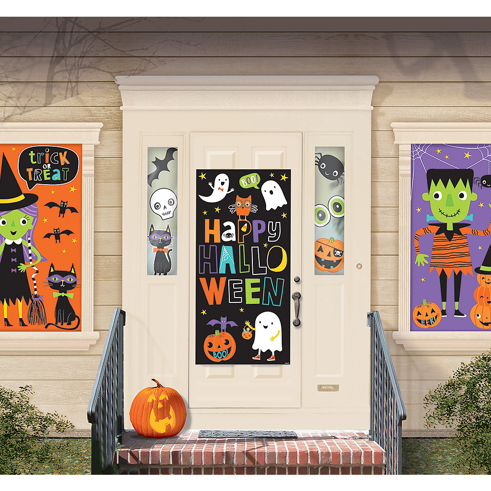 Halloween Friends Wall Decorating Kit 33pc Party City