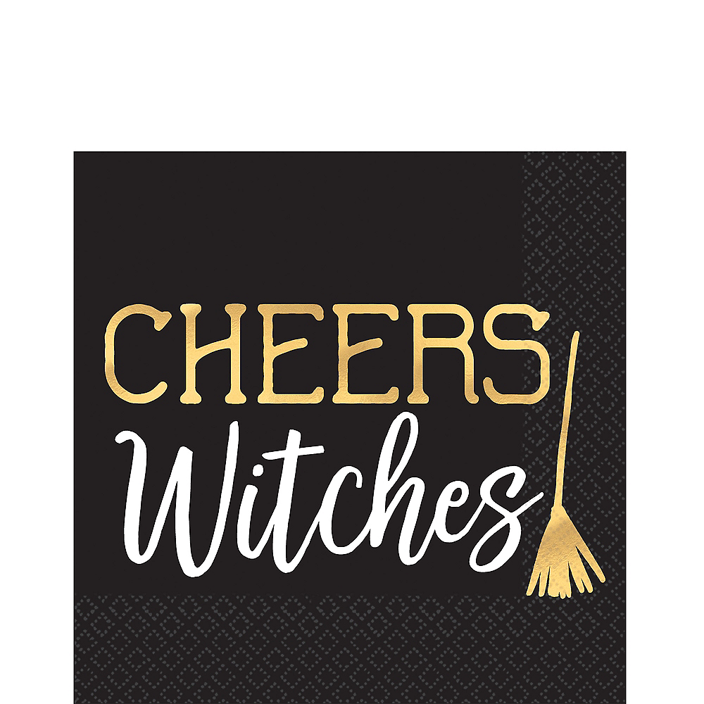 Cheers Witches Beverage Napkins 16ct Image #1