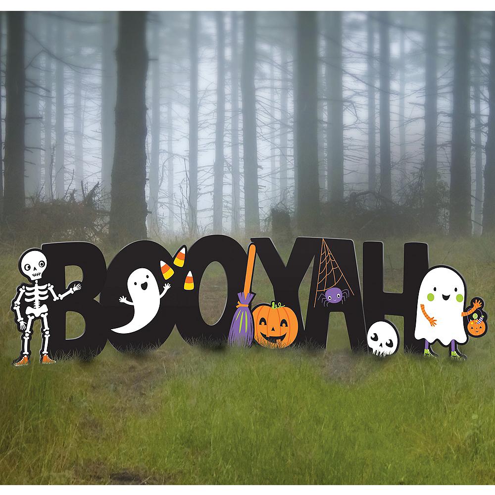 Halloween Friends Booyah Yard Sign Set Image #1