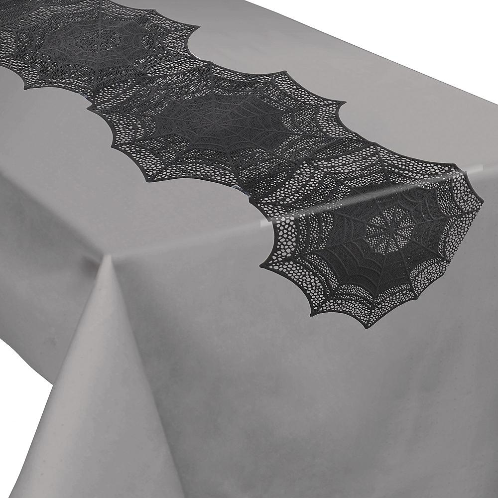 Spiderweb Table Runner Déguisements Décoration Halloween//Accessoire