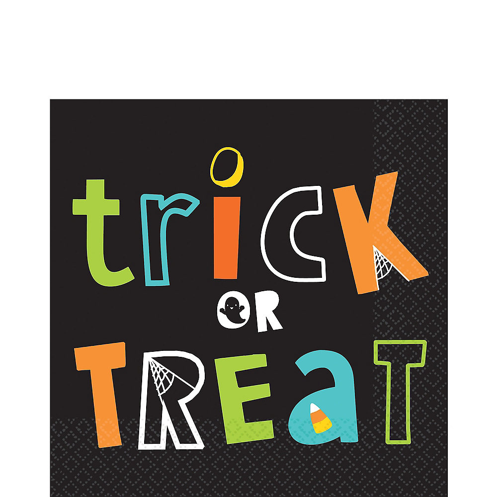 Trick-or-Treat Lunch Napkins 16ct Image #1