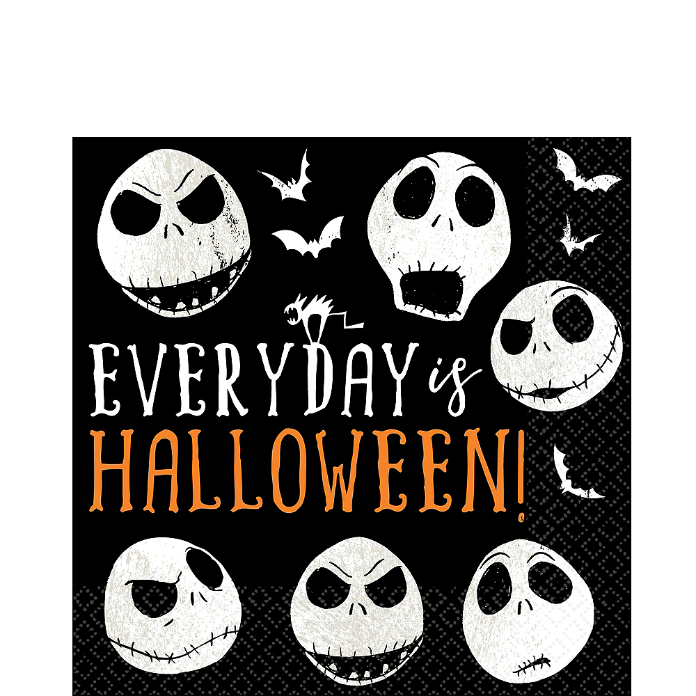 The Nightmare Before Christmas Lunch Napkins 16ct | Party City Canada