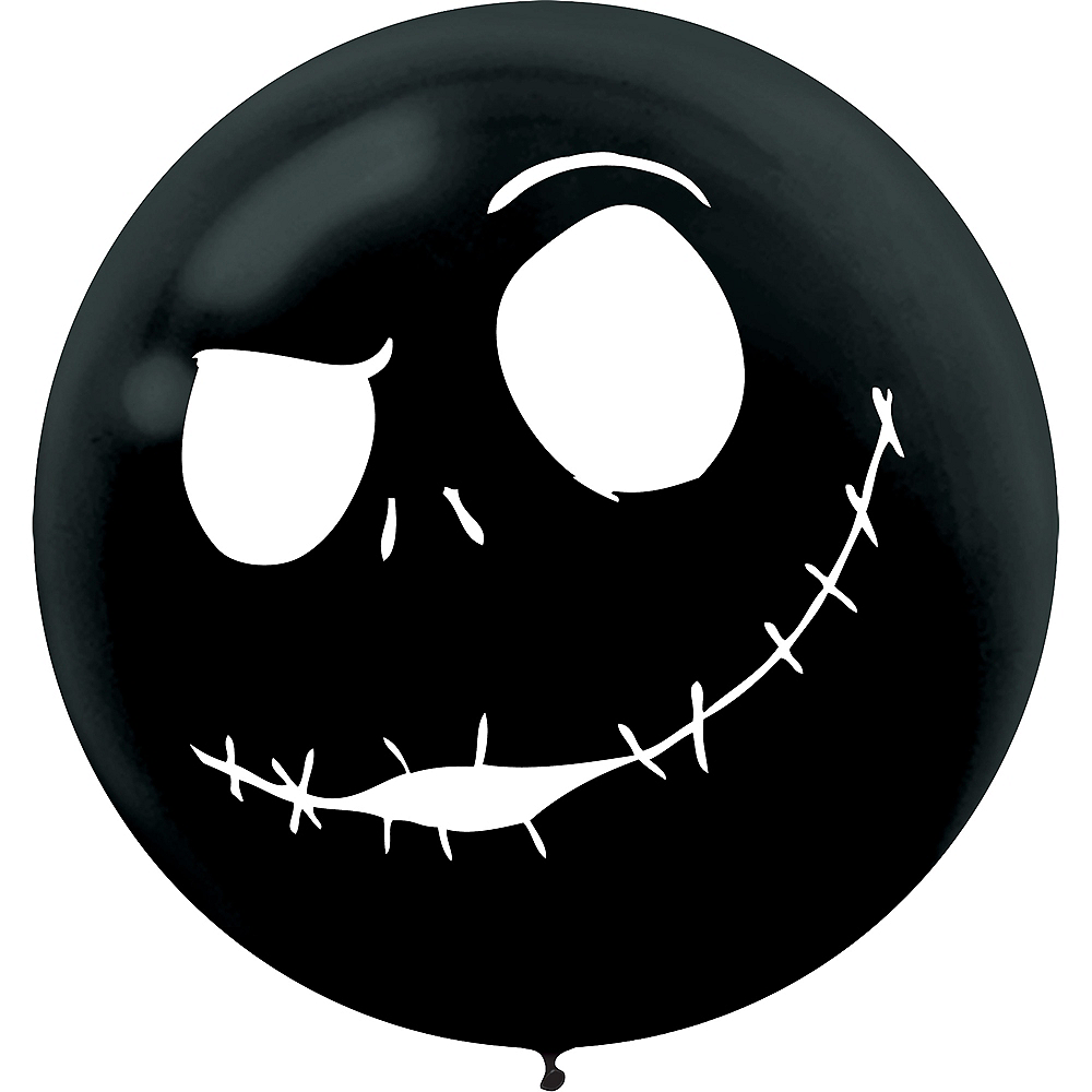 jack skellington balloons 2ct the nightmare before christmas image 3