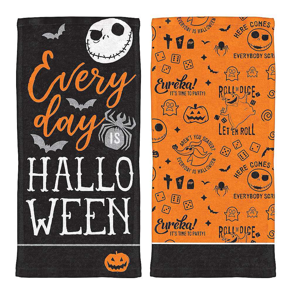nav item for the nightmare before christmas kitchen towels 2ct image 1