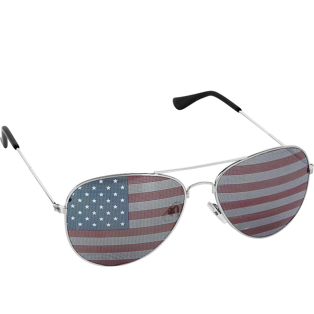Child American Flag Sunglasses Image #1