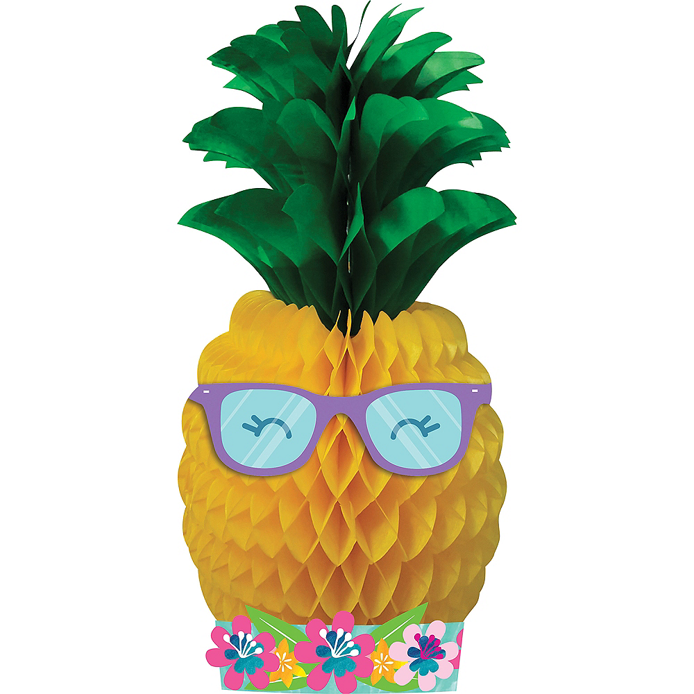 Tropical Pineapple Honeycomb Centerpiece Image #1