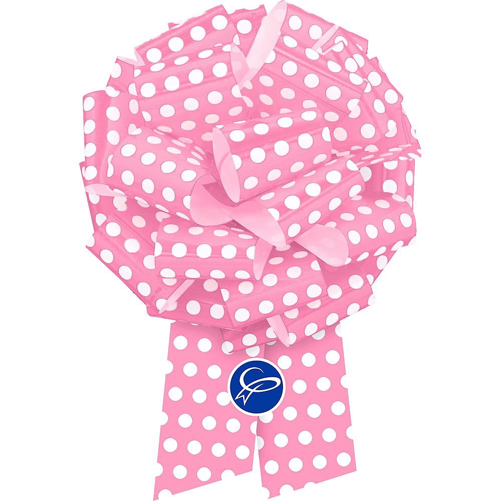 Pink Polka Dot Gift Bow Image #1