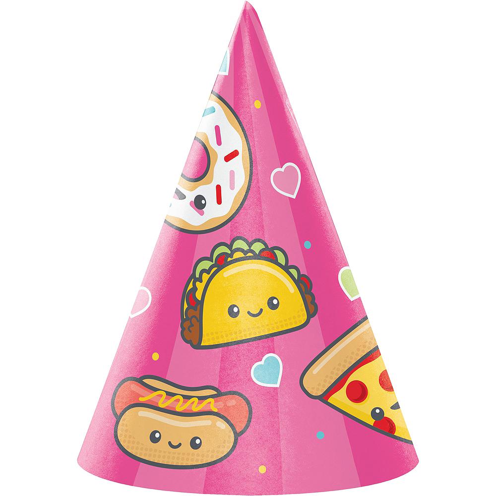 Junk Food Fun Party Hats 8ct Image #1
