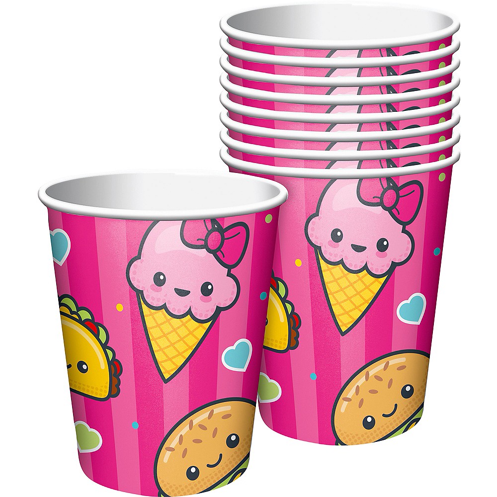 Junk Food Fun Cups 8ct Image #1