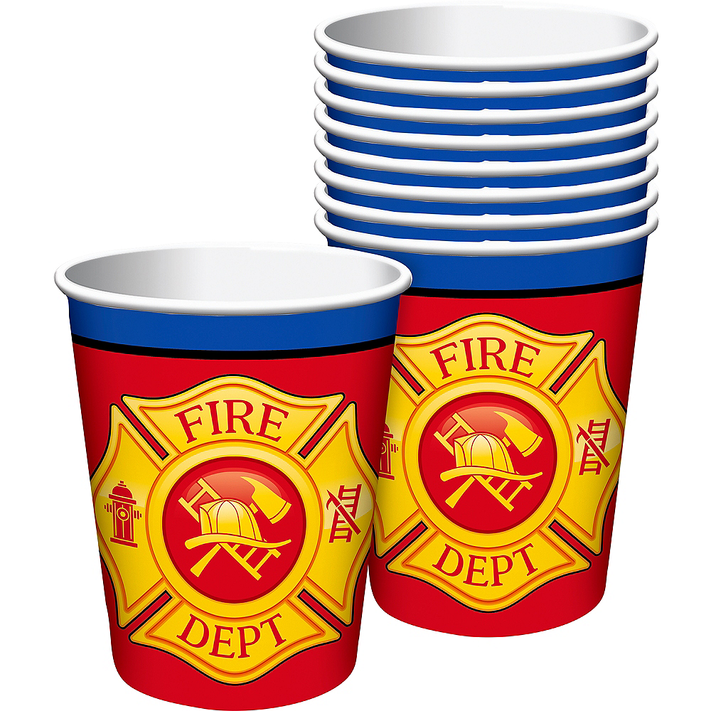Nav Item for Firefighter Cups 8ct Image #1
