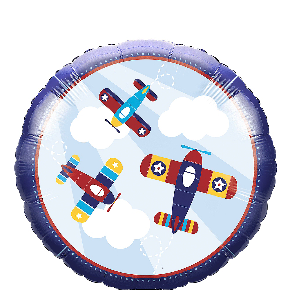 Airplane Balloon Image #1