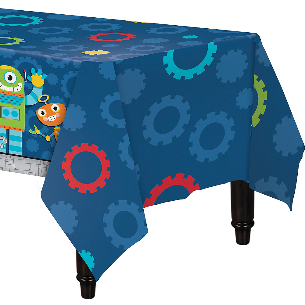Robot Table Cover Image #1