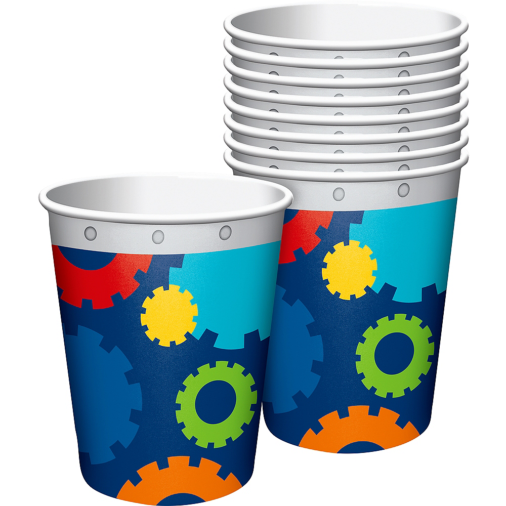 Robot Cups 8ct Image #1