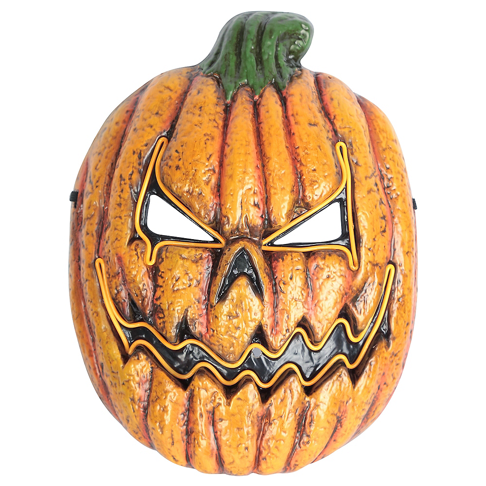 Light-Up Rotten Jack Mask Image #1